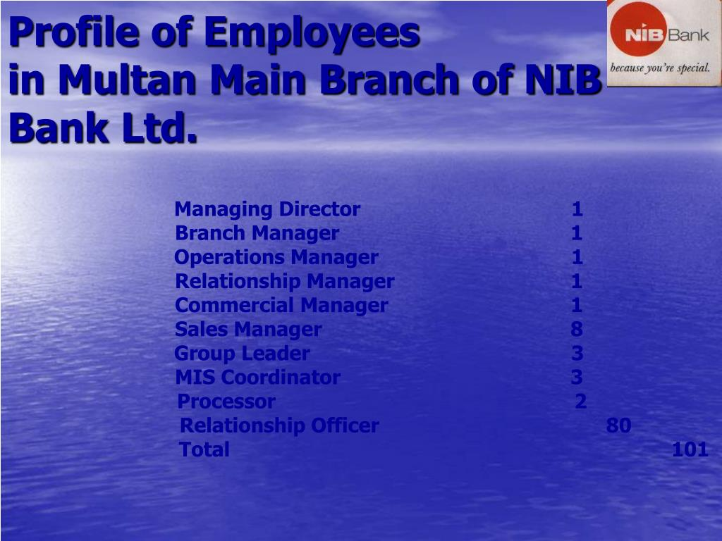 Profile of Employees