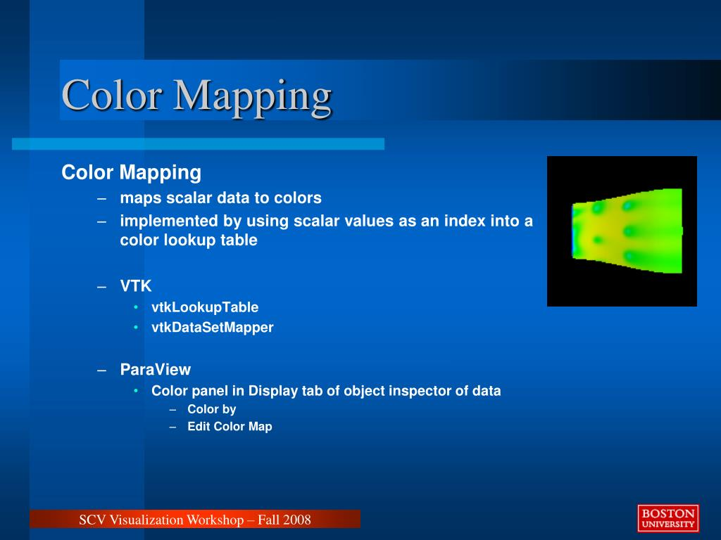 Color Mapping