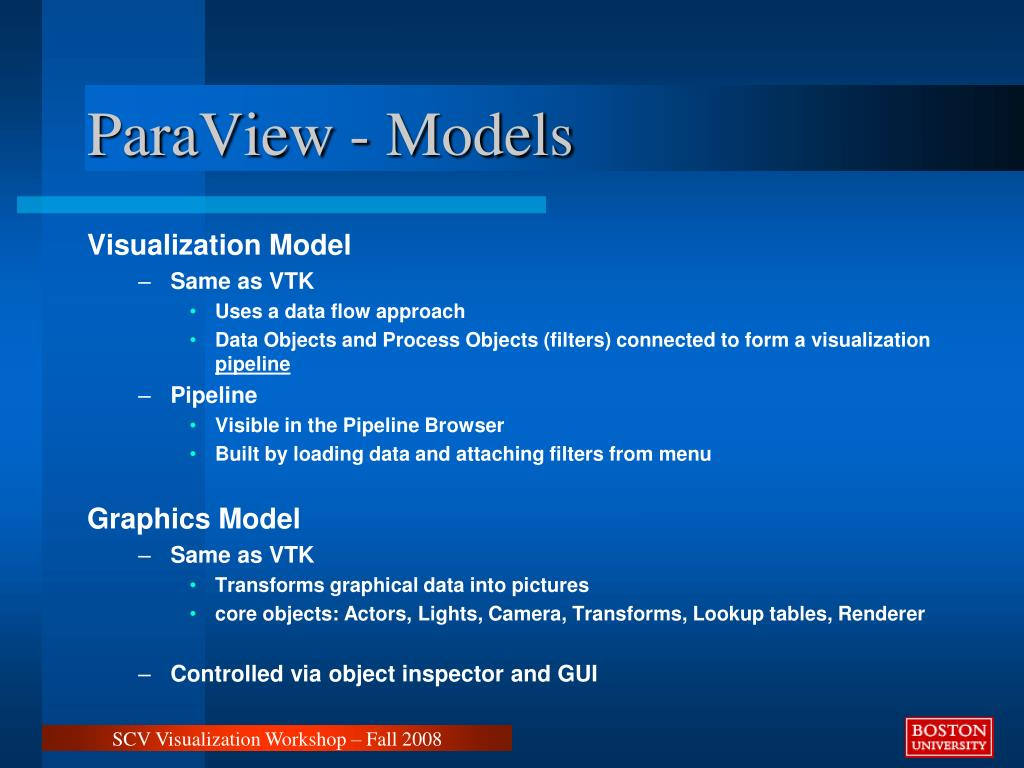ParaView - Models