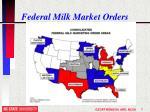 federal milk market orders