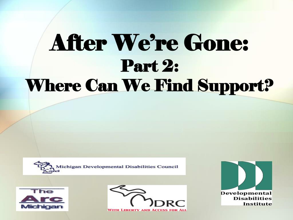 after we re gone part 2 where can we find support
