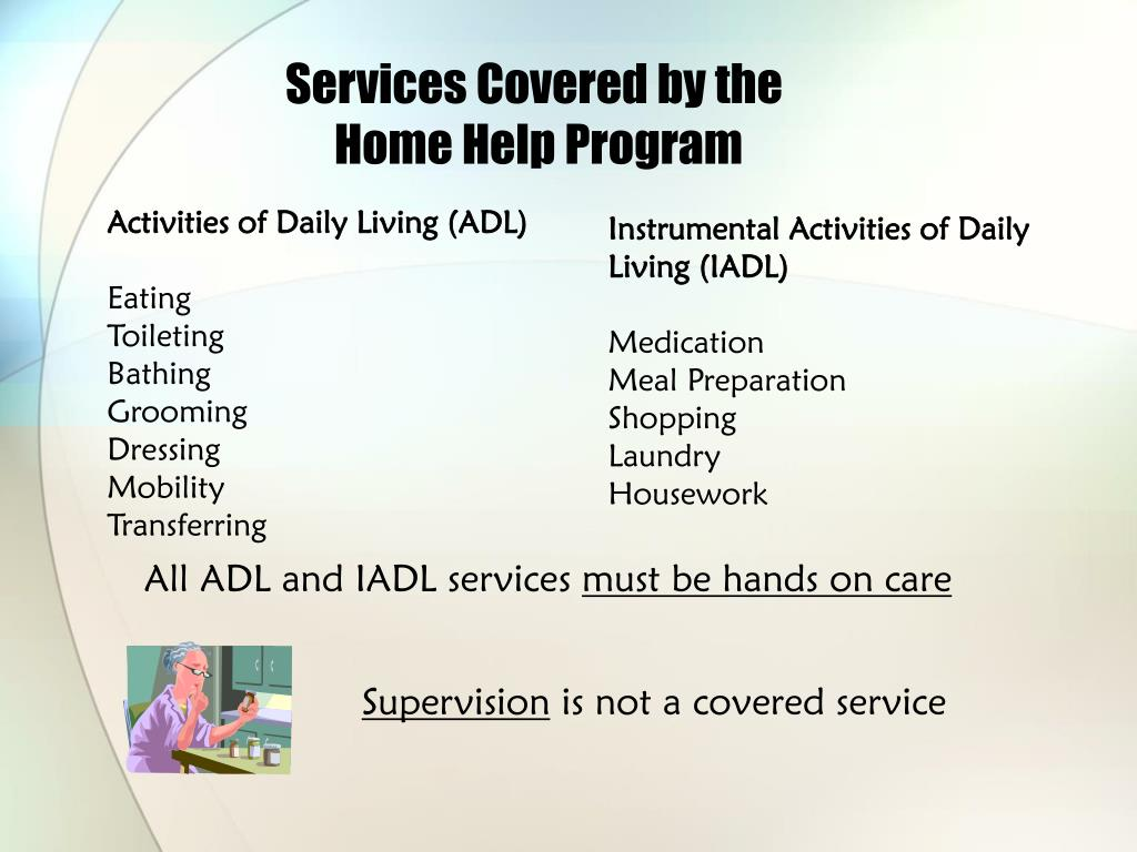 Services Covered by the