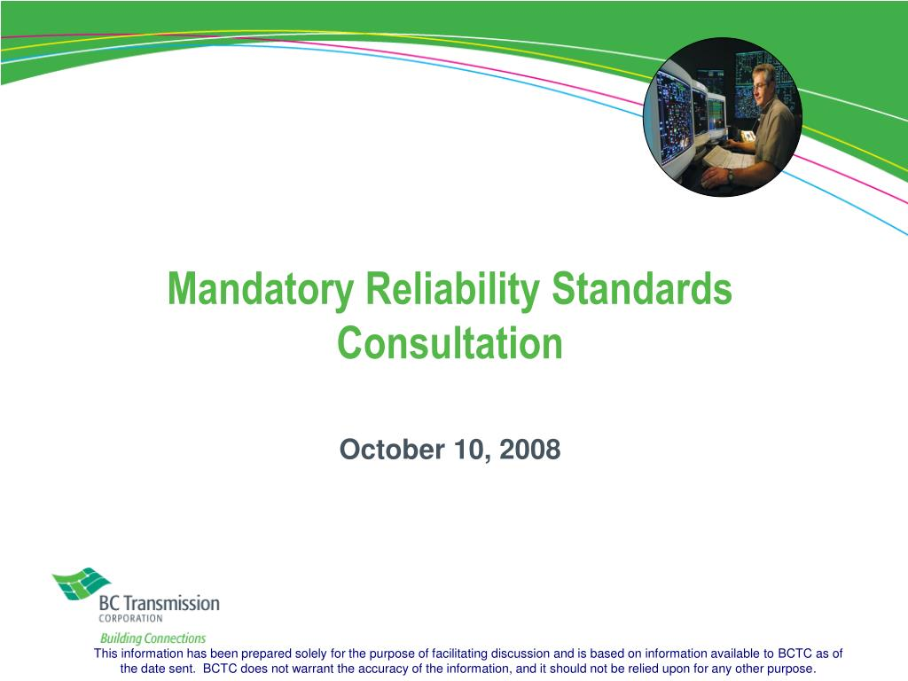 Mandatory Reliability Standards