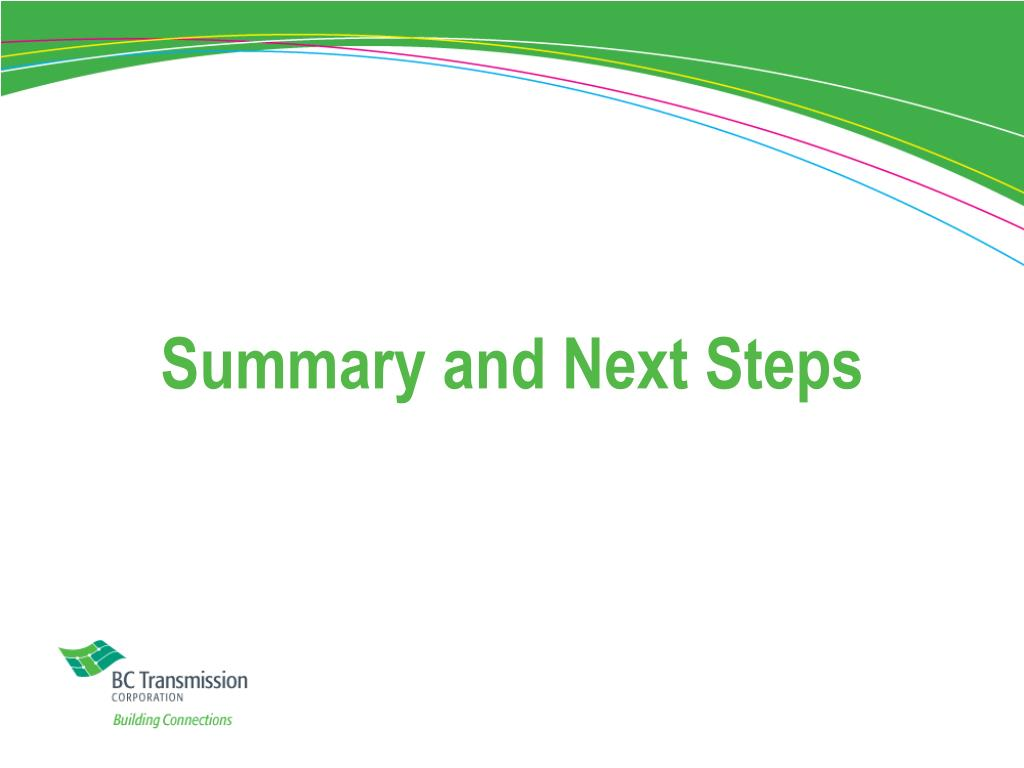 Summary and Next Steps