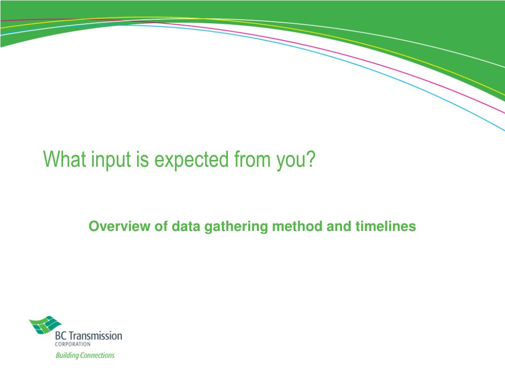 What input is expected from you?