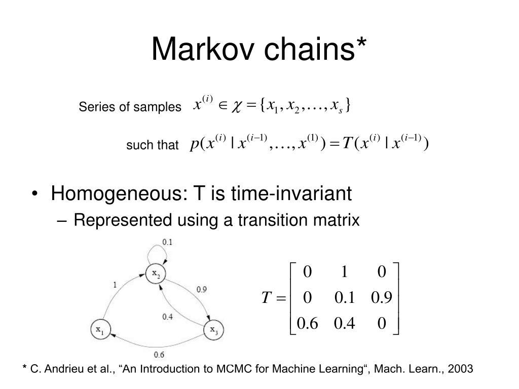 Markov chains*