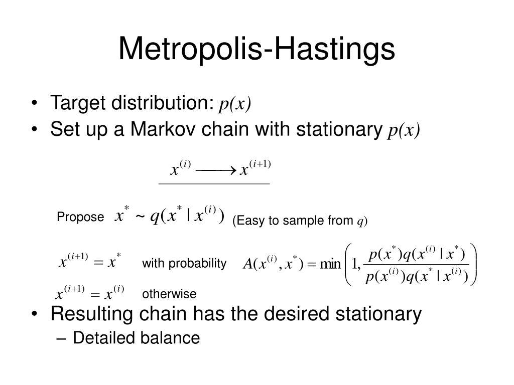 Metropolis-Hastings