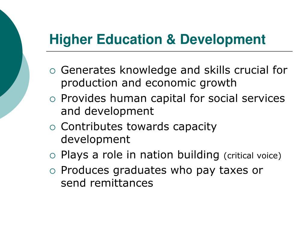 Higher Education & Development