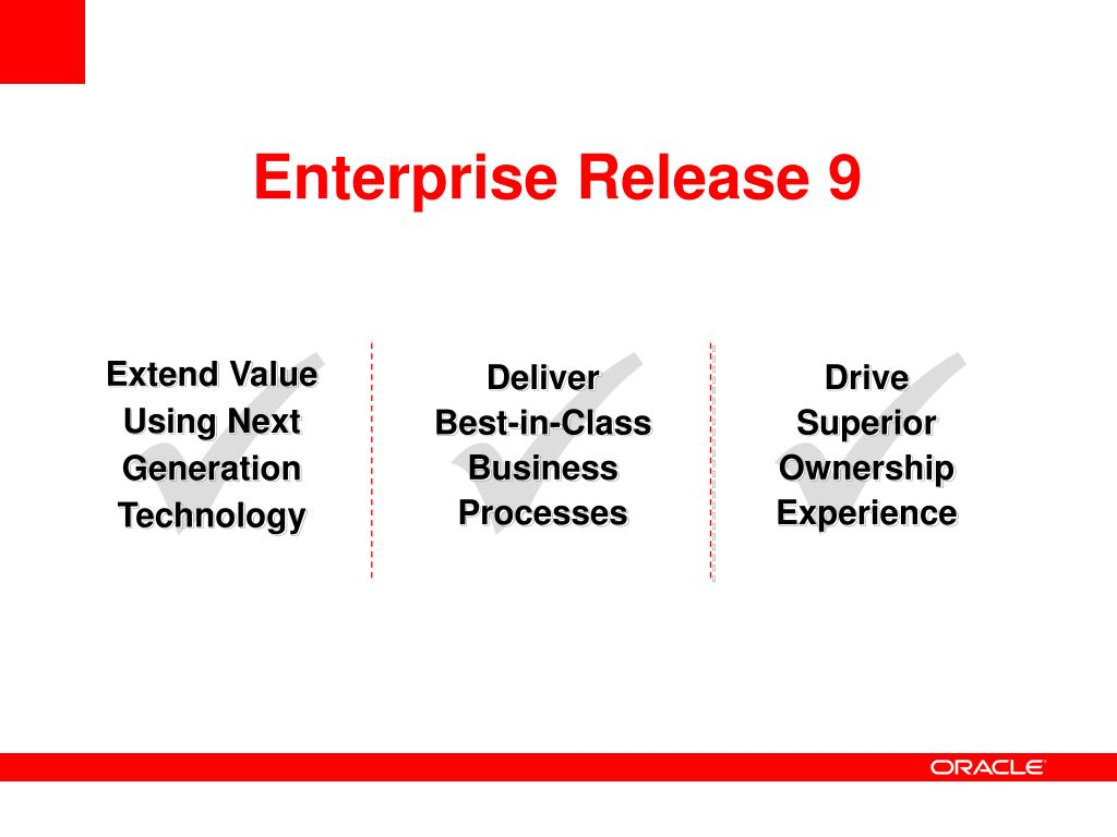 Enterprise Release 9
