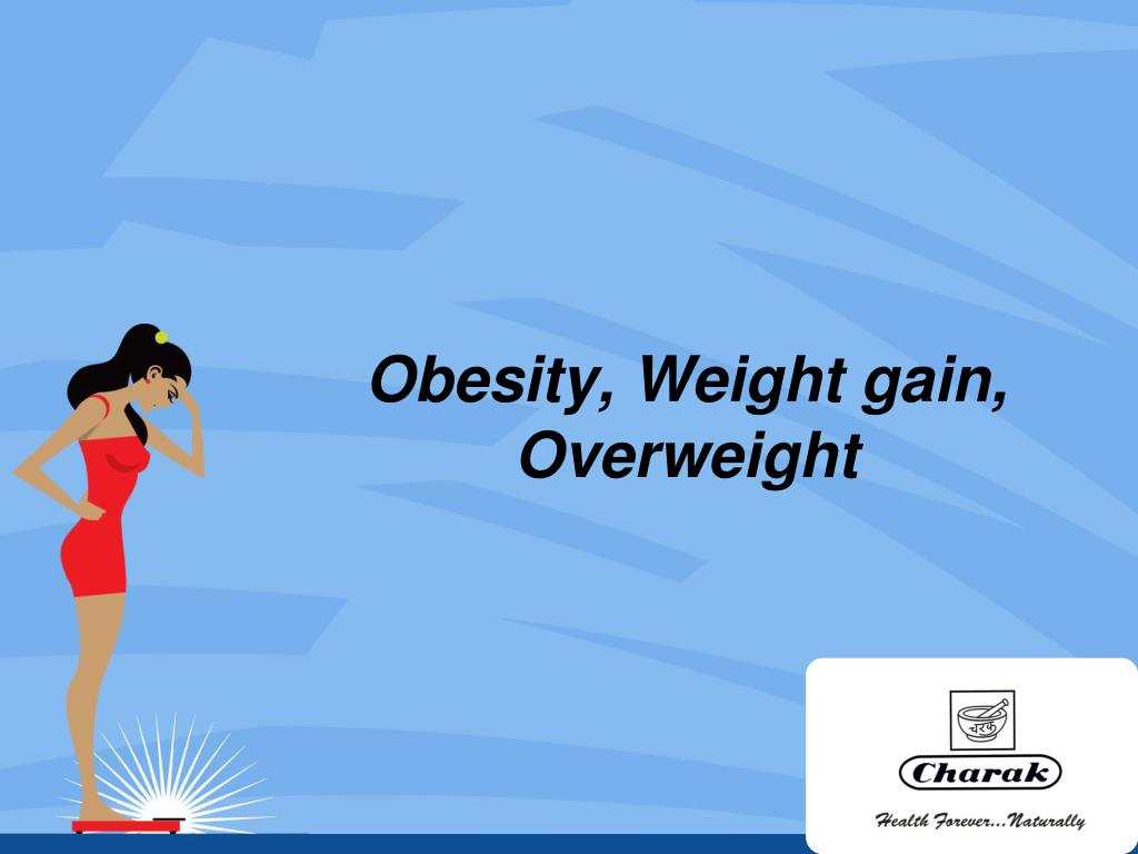 obesity weight gain overweight