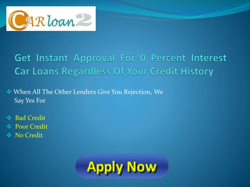 Get Instant Approval For