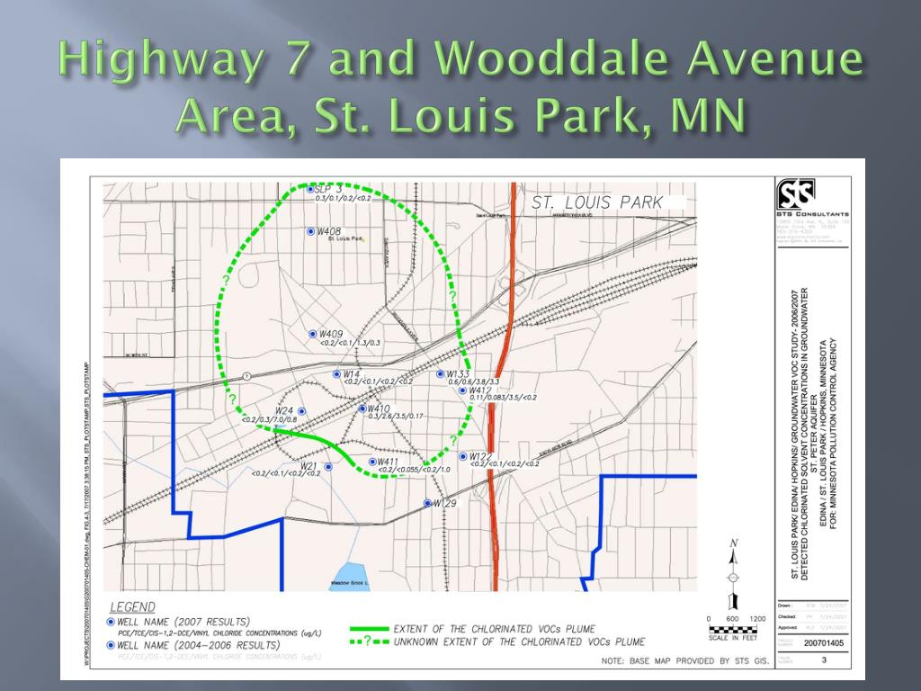 Highway 7 and Wooddale Avenue Area, St. Louis Park, MN