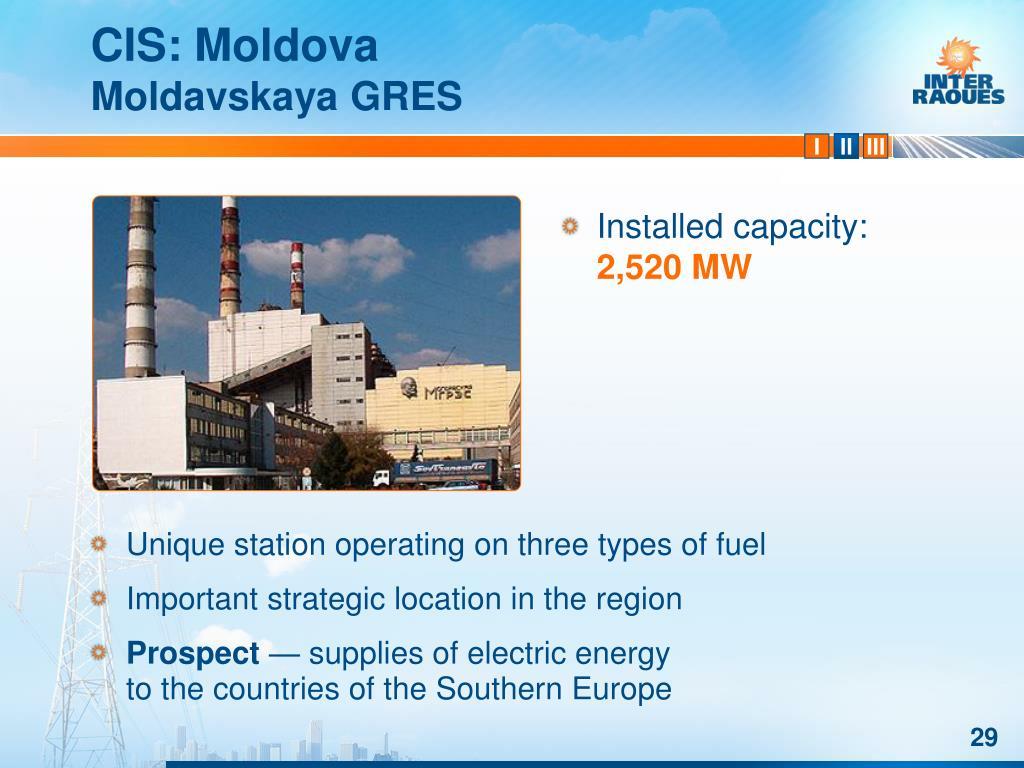 CIS: Moldova