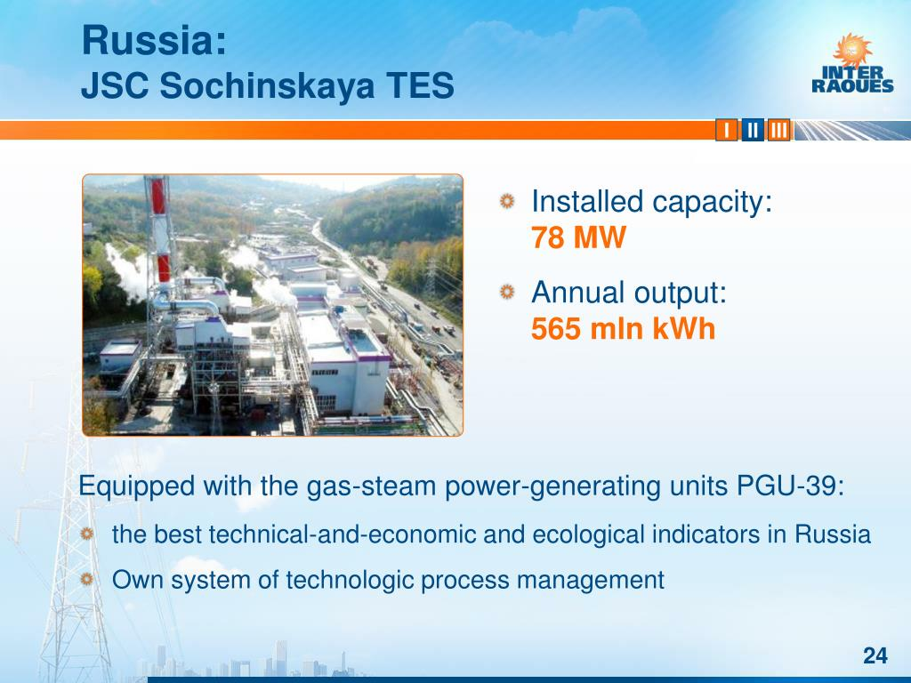 Equipped with the gas-steam power-generating units PGU-39:
