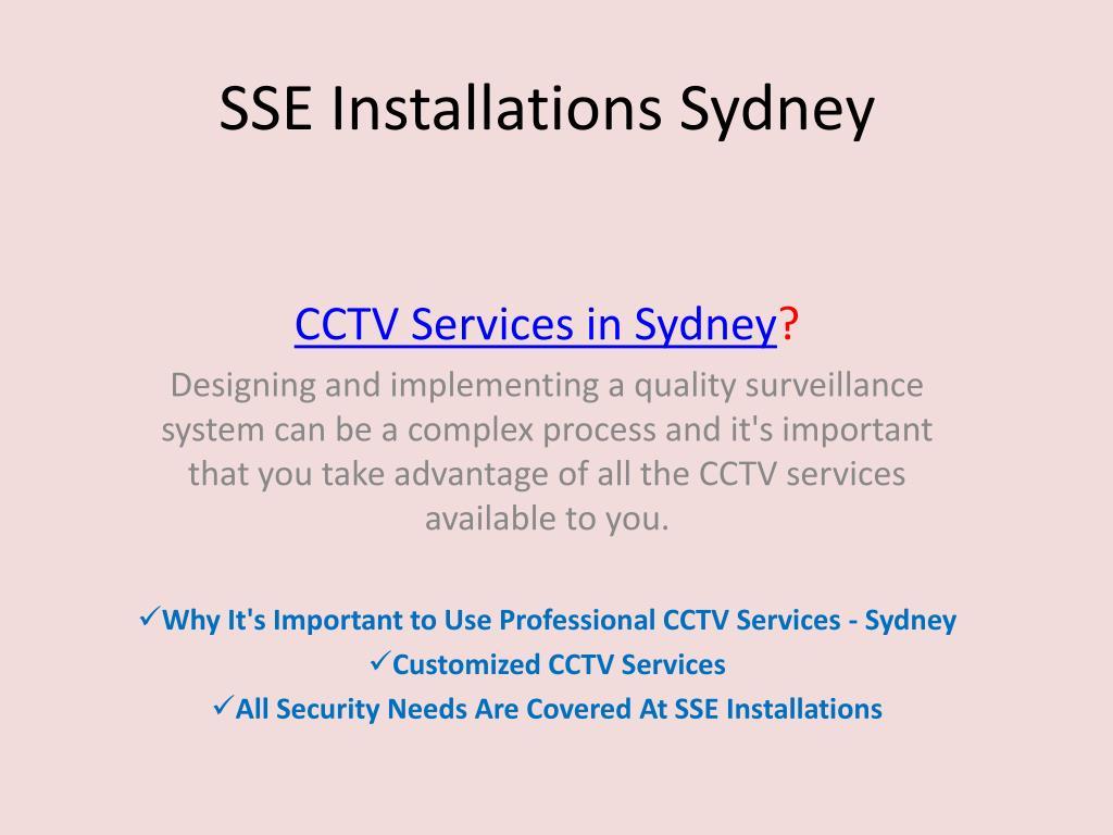 SSE Installations Sydney