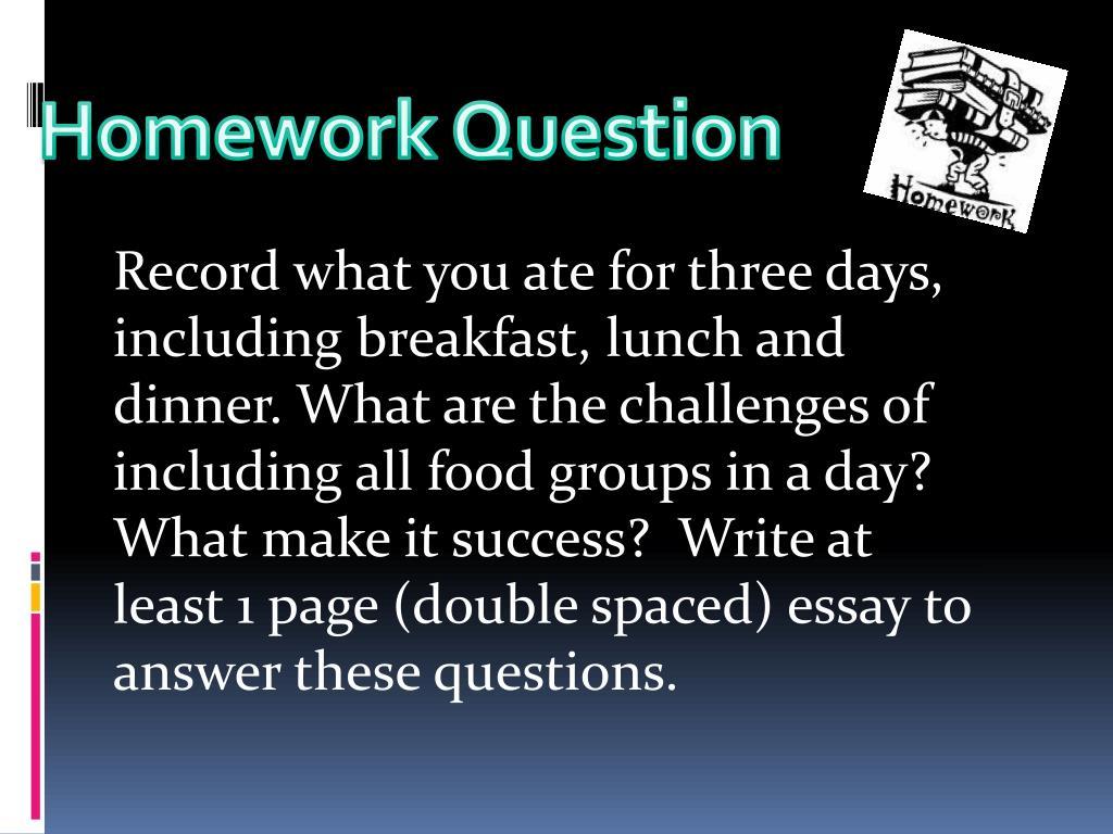 Homework Question