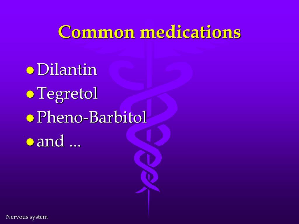 Common medications