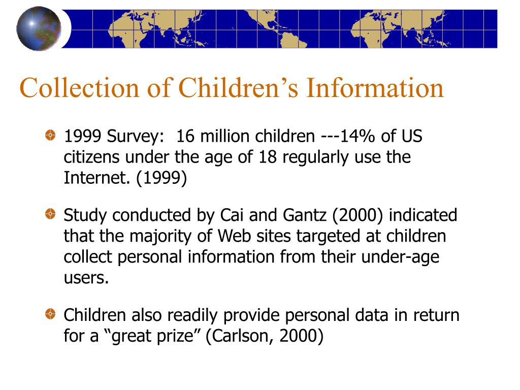 Collection of Children's Information
