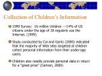 collection of children s information