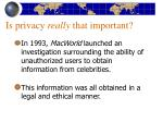 is privacy really that important