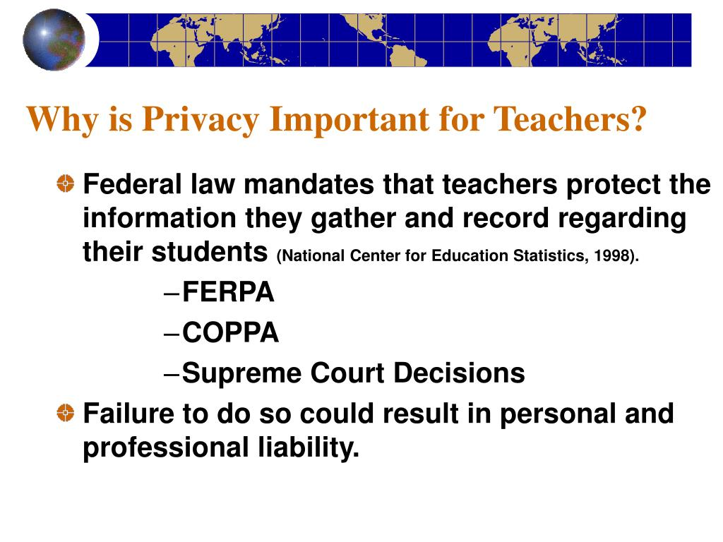 Why is Privacy Important for Teachers?