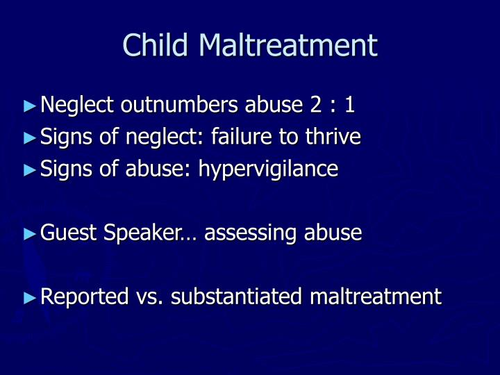 Child maltreatment3