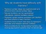 why do students have difficulty with fractions