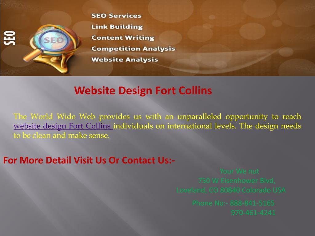 Website Design Fort Collins