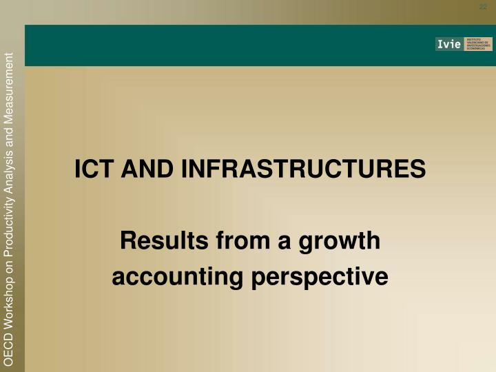ICT AND INFRASTRUCTURES
