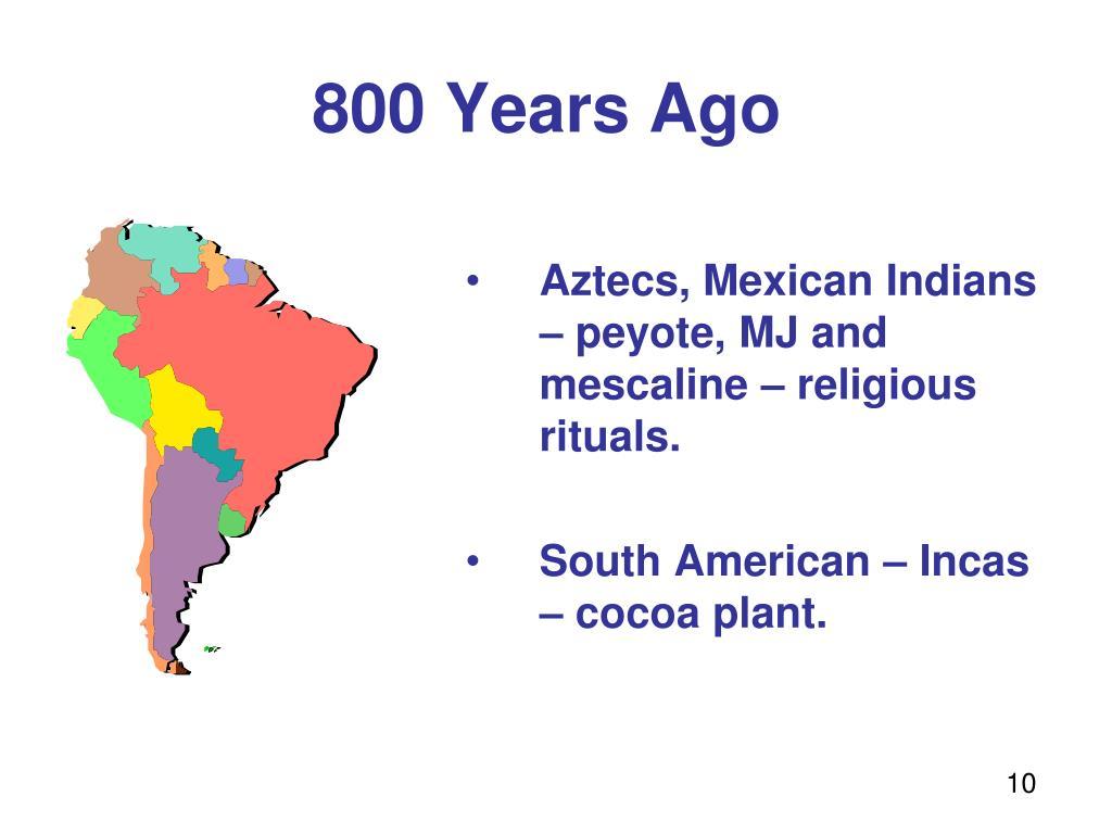 800 Years Ago