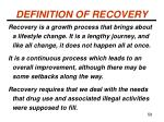 definition of recovery