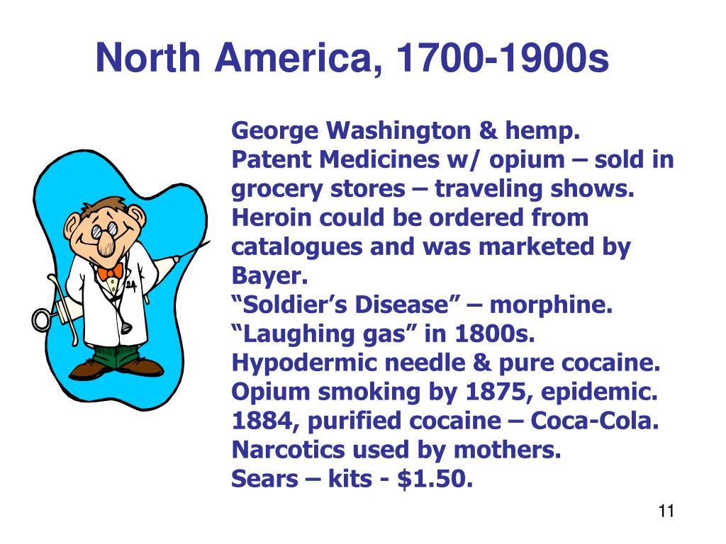 North America, 1700-1900s