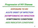 progression of hiv disease