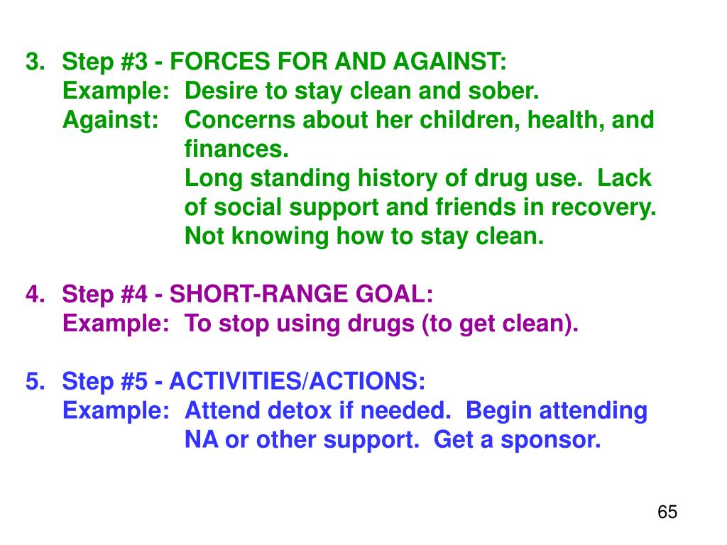 3.Step #3 - FORCES FOR AND AGAINST: