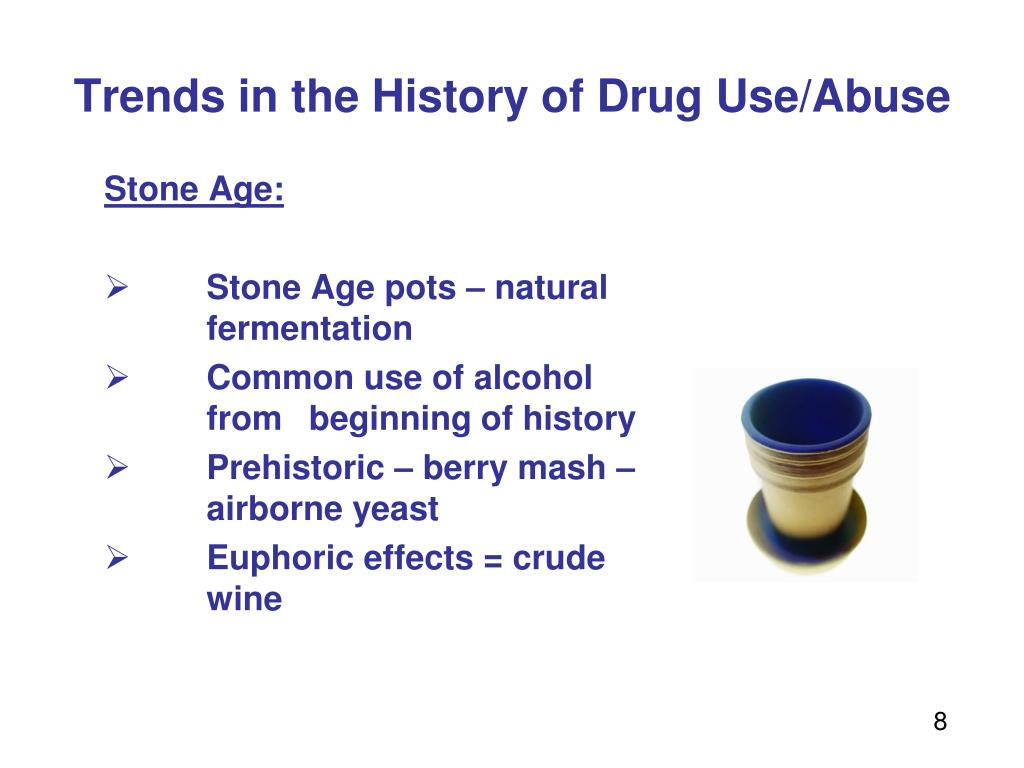 Trends in the History of Drug Use/Abuse