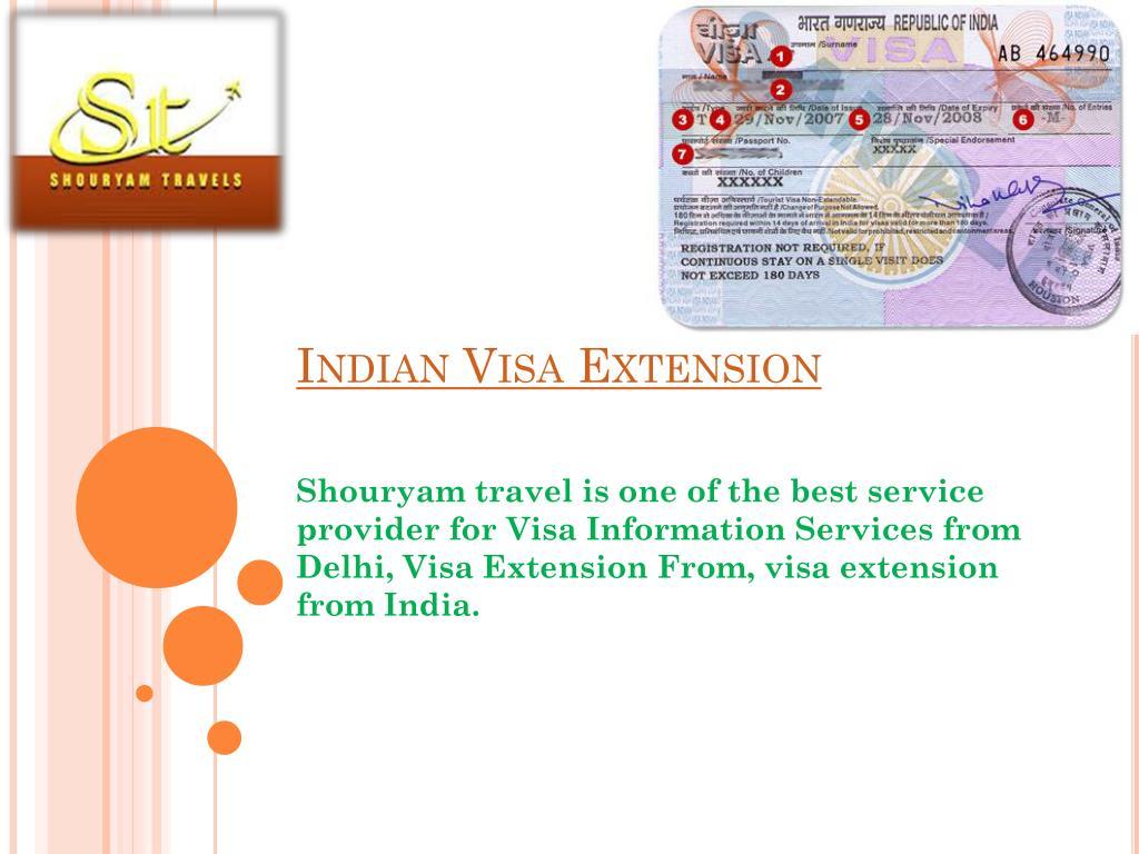 Indian Visa Extension