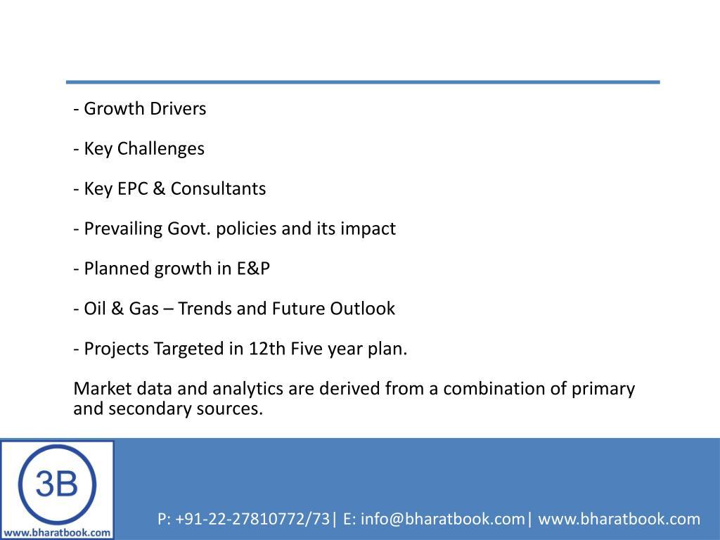 - Growth Drivers