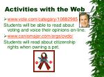 activities with the web14