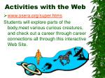 activities with the web24