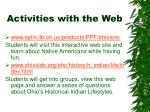 activities with the web5