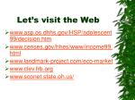 let s visit the web21