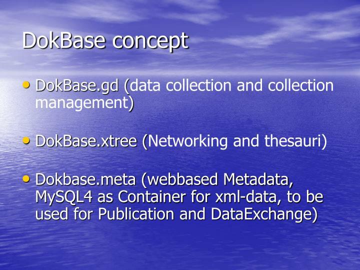 DokBase concept