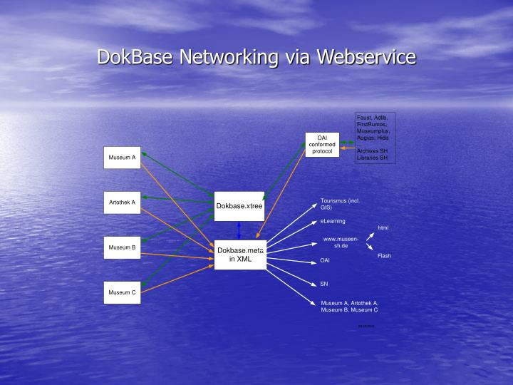 DokBase Networking via Webservice
