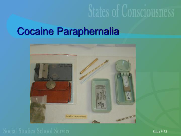 Cocaine Paraphernalia