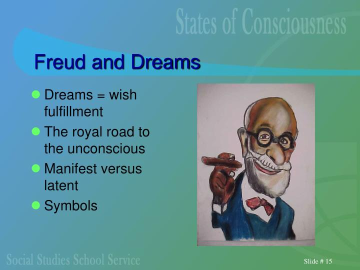 Freud and Dreams
