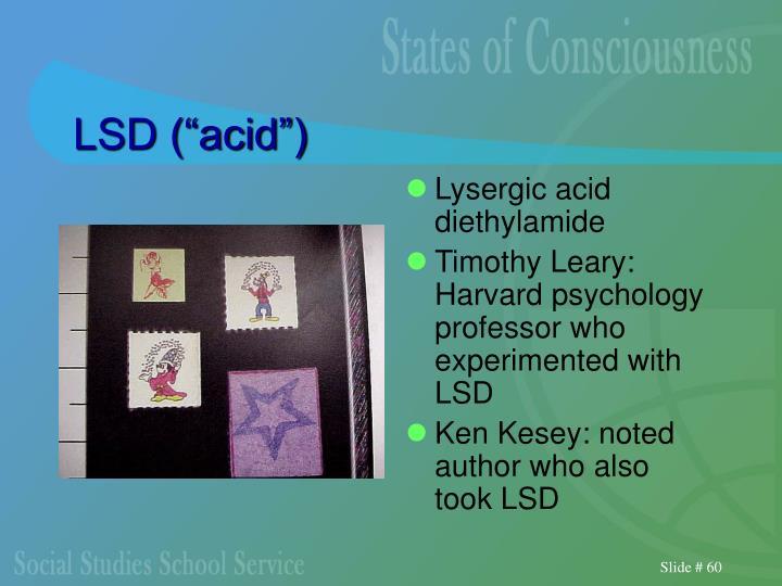 """LSD (""""acid"""")"""