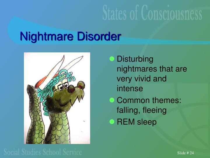 Nightmare Disorder