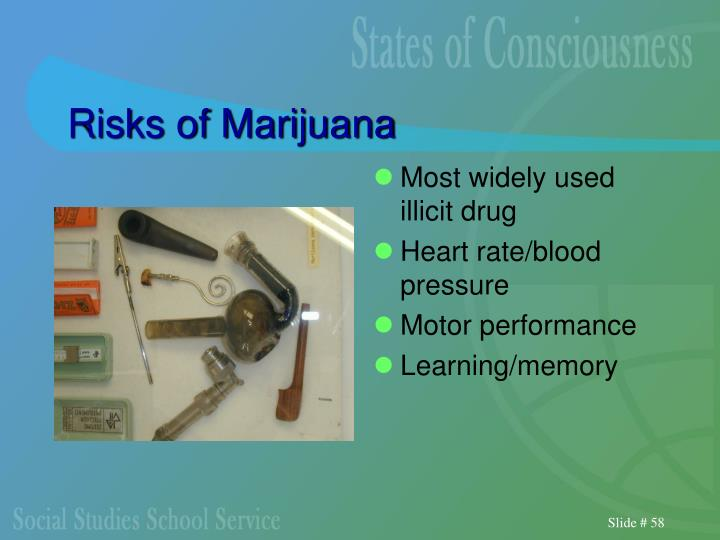 Risks of Marijuana