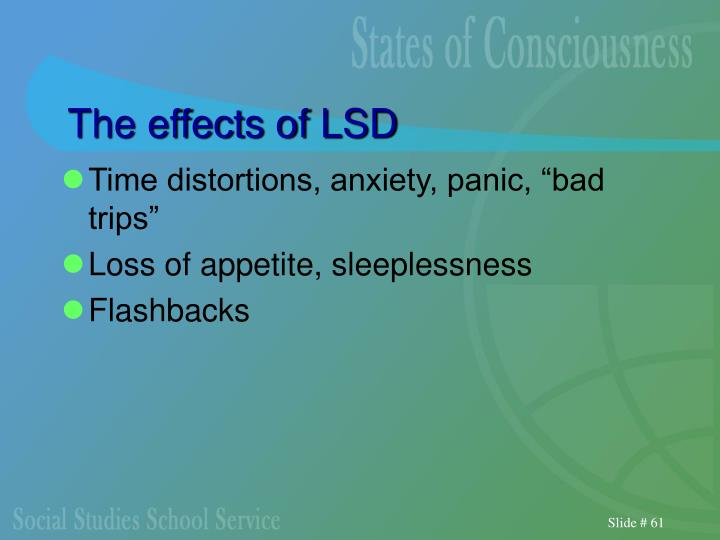 The effects of LSD