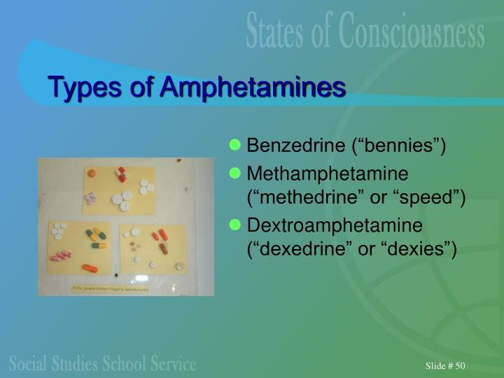 Types of Amphetamines